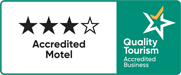 Quality Tourism Accredited Business - Cara Motel